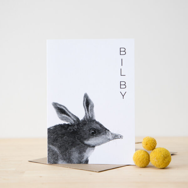 Australian Animal Card Bilby