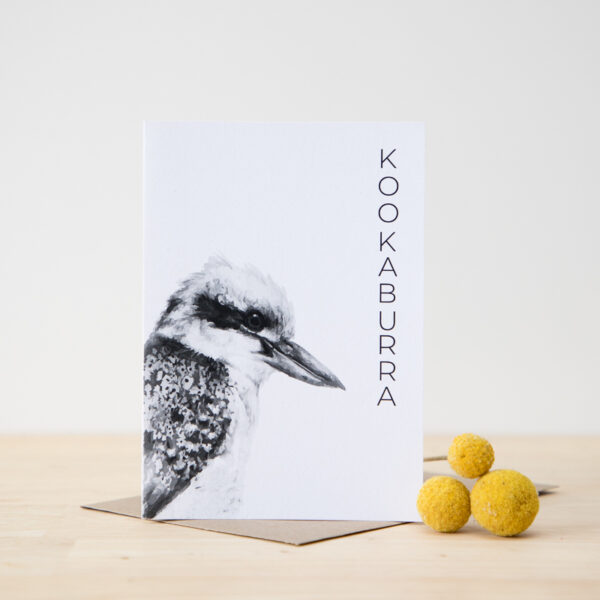 Australian Animal Card Kookaburra