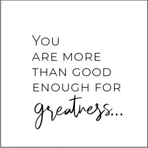 You are more than good enough for greatness-free pdf download