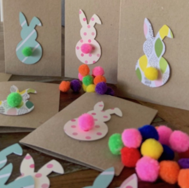 How to Make Easter Bunny Card Blog square
