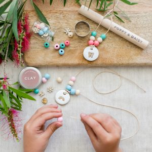 Eco gifts for kids lets create friendship necklaces high res copy