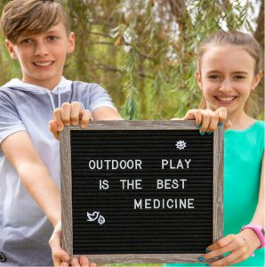 How does outdoor play help our Kid's gut health?