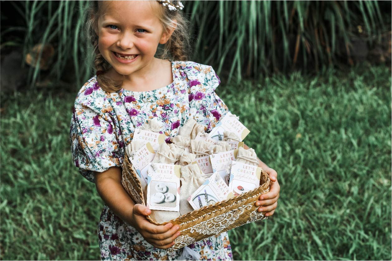 ECO EASTER GIFT BASKET FOR KIDS
