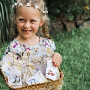 Easter Basket of Mini Eco Bags