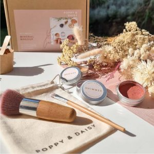 DIY eco natural makeup for kids poppy and daisy designs